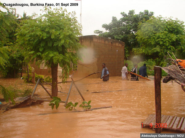 Inondations en Afrique de l'ouest