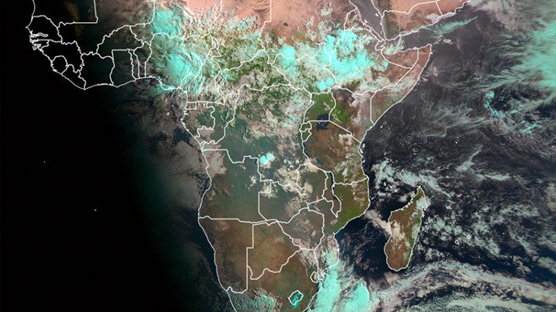 Interprétation de base de l'imagerie satellitaire