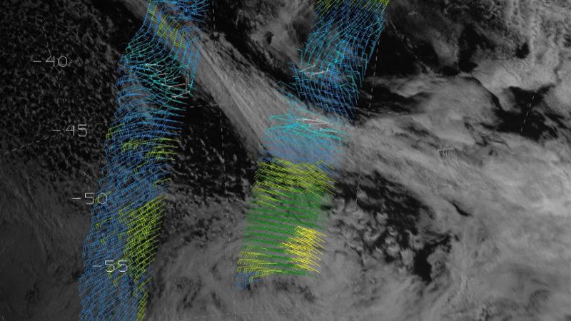 Utilisation des vents d'ASCAT et d'autres données pour les prévisions maritimes