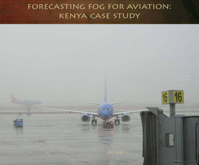 Prevision du brouillard pour l'aviation: etude de cas du Kenya