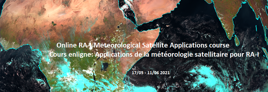 RA-I Meteorological Satellite Applications 2021 / RA-I Applications Météorologiques Satellitaires 2021